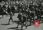 Image of Duffy Memorial unveiling ceremony New York City USA, 1937, second 25 stock footage video 65675063192