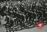 Image of Duffy Memorial unveiling ceremony New York City USA, 1937, second 26 stock footage video 65675063192