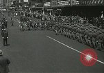 Image of Duffy Memorial unveiling ceremony New York City USA, 1937, second 28 stock footage video 65675063192
