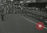 Image of Duffy Memorial unveiling ceremony New York City USA, 1937, second 29 stock footage video 65675063192