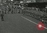 Image of Duffy Memorial unveiling ceremony New York City USA, 1937, second 30 stock footage video 65675063192