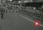 Image of Duffy Memorial unveiling ceremony New York City USA, 1937, second 32 stock footage video 65675063192