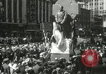 Image of Duffy Memorial unveiling ceremony New York City USA, 1937, second 39 stock footage video 65675063192