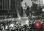 Image of Duffy Memorial unveiling ceremony New York City USA, 1937, second 40 stock footage video 65675063192