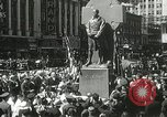 Image of Duffy Memorial unveiling ceremony New York City USA, 1937, second 41 stock footage video 65675063192