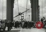 Image of Golden Gate bridge dedication San Francisco California USA, 1937, second 30 stock footage video 65675063194