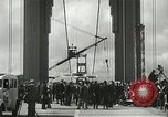 Image of Golden Gate bridge dedication San Francisco California USA, 1937, second 31 stock footage video 65675063194