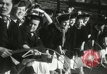 Image of hoop-rolling championship Wellesley Massachusetts USA, 1937, second 12 stock footage video 65675063196