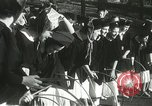 Image of hoop-rolling championship Wellesley Massachusetts USA, 1937, second 14 stock footage video 65675063196