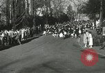 Image of hoop-rolling championship Wellesley Massachusetts USA, 1937, second 17 stock footage video 65675063196