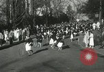 Image of hoop-rolling championship Wellesley Massachusetts USA, 1937, second 21 stock footage video 65675063196