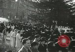 Image of hoop-rolling championship Wellesley Massachusetts USA, 1937, second 24 stock footage video 65675063196