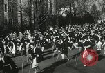 Image of hoop-rolling championship Wellesley Massachusetts USA, 1937, second 27 stock footage video 65675063196