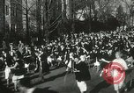 Image of hoop-rolling championship Wellesley Massachusetts USA, 1937, second 30 stock footage video 65675063196
