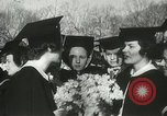 Image of hoop-rolling championship Wellesley Massachusetts USA, 1937, second 32 stock footage video 65675063196