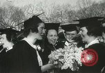 Image of hoop-rolling championship Wellesley Massachusetts USA, 1937, second 34 stock footage video 65675063196