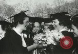 Image of hoop-rolling championship Wellesley Massachusetts USA, 1937, second 35 stock footage video 65675063196