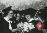 Image of hoop-rolling championship Wellesley Massachusetts USA, 1937, second 36 stock footage video 65675063196