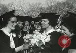 Image of hoop-rolling championship Wellesley Massachusetts USA, 1937, second 37 stock footage video 65675063196