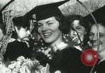 Image of hoop-rolling championship Wellesley Massachusetts USA, 1937, second 39 stock footage video 65675063196