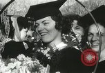Image of hoop-rolling championship Wellesley Massachusetts USA, 1937, second 40 stock footage video 65675063196