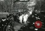Image of hoop-rolling championship Wellesley Massachusetts USA, 1937, second 41 stock footage video 65675063196