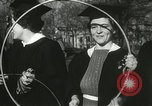 Image of hoop-rolling championship Wellesley Massachusetts USA, 1937, second 45 stock footage video 65675063196