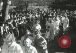 Image of hoop-rolling championship Wellesley Massachusetts USA, 1937, second 46 stock footage video 65675063196