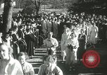 Image of hoop-rolling championship Wellesley Massachusetts USA, 1937, second 48 stock footage video 65675063196