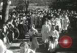 Image of hoop-rolling championship Wellesley Massachusetts USA, 1937, second 49 stock footage video 65675063196