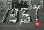 Image of hoop-rolling championship Wellesley Massachusetts USA, 1937, second 57 stock footage video 65675063196