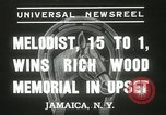 Image of Wood Memorial New York United States USA, 1937, second 7 stock footage video 65675063197