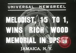 Image of Wood Memorial New York United States USA, 1937, second 8 stock footage video 65675063197