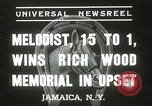 Image of Wood Memorial New York United States USA, 1937, second 9 stock footage video 65675063197