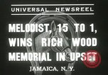 Image of Wood Memorial New York United States USA, 1937, second 11 stock footage video 65675063197