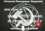 Image of communists New York United States USA, 1933, second 1 stock footage video 65675063198
