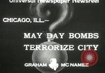 Image of damage from bombardment Chicago Illinois USA, 1933, second 1 stock footage video 65675063199
