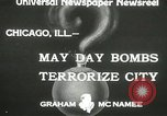 Image of damage from bombardment Chicago Illinois USA, 1933, second 2 stock footage video 65675063199