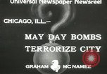 Image of damage from bombardment Chicago Illinois USA, 1933, second 3 stock footage video 65675063199