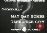 Image of damage from bombardment Chicago Illinois USA, 1933, second 4 stock footage video 65675063199