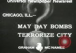 Image of damage from bombardment Chicago Illinois USA, 1933, second 5 stock footage video 65675063199