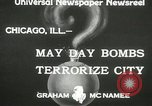 Image of damage from bombardment Chicago Illinois USA, 1933, second 9 stock footage video 65675063199