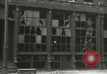 Image of damage from bombardment Chicago Illinois USA, 1933, second 18 stock footage video 65675063199