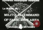 Image of Martial law Le Mars Iowa USA, 1933, second 3 stock footage video 65675063203