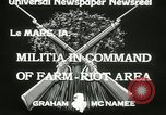 Image of Martial law Le Mars Iowa USA, 1933, second 4 stock footage video 65675063203