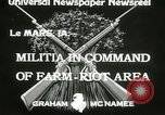 Image of Martial law Le Mars Iowa USA, 1933, second 5 stock footage video 65675063203
