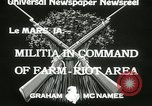 Image of Martial law Le Mars Iowa USA, 1933, second 6 stock footage video 65675063203