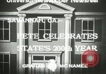 Image of 200th anniversary Savannah Georgia USA, 1933, second 6 stock footage video 65675063207