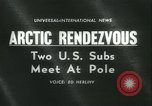 Image of United States submarines Arctic Ocean, 1962, second 3 stock footage video 65675063211