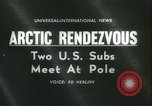 Image of United States submarines Arctic Ocean, 1962, second 4 stock footage video 65675063211
